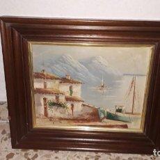 Varios objetos de Arte: CUADRO PAISAJE. Lote 154715022