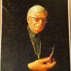 Varios objetos de Arte: ESTUCHE DE ARPILLERA NUMERADO DE XAVIER CUGAT. Lote 154829730