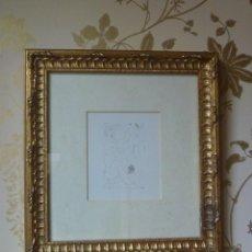 Varios objetos de Arte: DIBUJO ERÓTICO PICASSO ESTILO SHUNGA JAPONÉS DECÁDA DE LOS 60 IDEAL REGALO. Lote 155310114