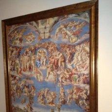 Varios objetos de Arte: EL JUICIO FINAL MIGUEL ÁNGEL. Lote 155633510