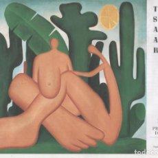 Varios objetos de Arte: TARSILA DO AMARAL EXPOSICIÓN FUNDACIÓN JUAN MARCH 2009 PROGRAMA DE MANO 12 PÁGINAS 20X27 CMS.. Lote 155658322