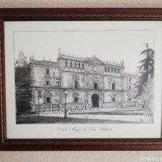 Varios objetos de Arte: CUADRO UNIVERSIDAD ALCALÁ DE HENARES. Lote 155863282