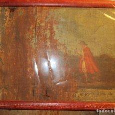 Varios objetos de Arte: ANTIGUA PINTURA EN LIENZO SIGLO XVIII A RESTAURAR. Lote 156265070