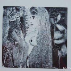 Varios objetos de Arte: PICASSO. LÁMINA OFFSET DE GRABADO DE 16X15 MUY BIEN ENMARCADA EN 45X50. MUY BUEN ESTADO.. Lote 156547598