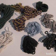 Varios objetos de Arte: LOTE 6 CORDONES HABITO. Lote 156887002