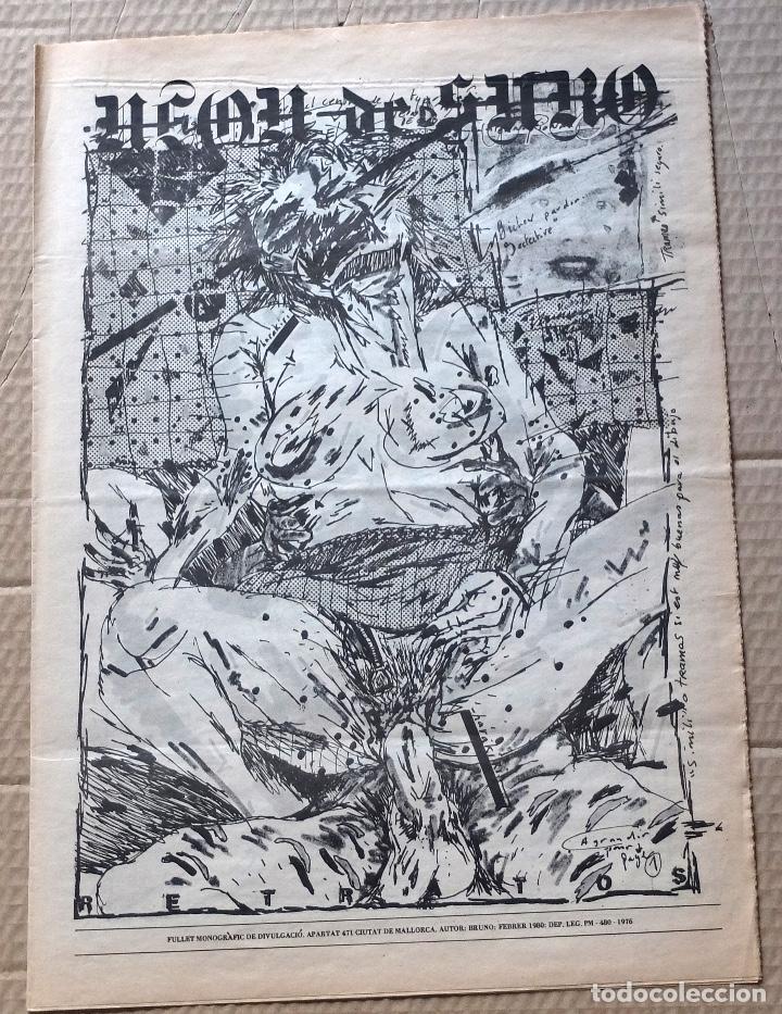NEON DE SURO FEBRERO 1980 MONOGRÁFICO BRUNO- CIUTAT DE MALLORCA- MAIL ART (Arte - Varios Objetos de Arte)