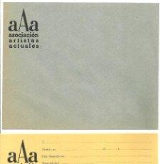 Arte: 3406.- ARTE MODERNO - ASOCIACION DE ARTISTAS ACTUALES -CARTA DE ADHESION AL COLECTIVO ARTISTICO. Lote 157739658