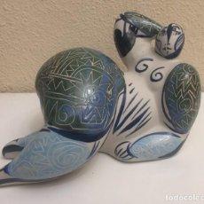 Varios objetos de Arte: DAMA GRANDE AZUL. Lote 157743862