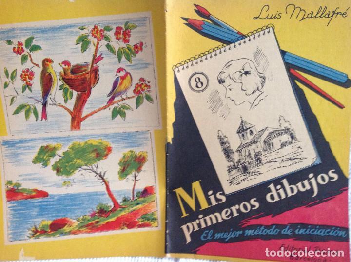 4 Cuadernos Método Iniciación Al Dibujo Años 40 El Dibujo De Animales Cuadernos Para Colorear