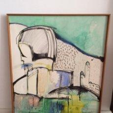 Varios objetos de Arte: CUADRO ABSTRACTO 1981 / PINTURA MODERNA / CUADRO / ARTE. Lote 157884090