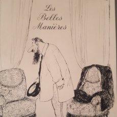 Varios objetos de Arte: (EROTICA-PORNOGRAFIA) ROGER TESTU: LES BELLES MANIERES. REPRODUCCIÓN DE LA EDIC DE 1960 40 LÁMINAS.. Lote 157912320
