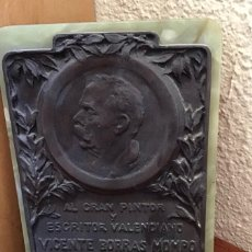 Varios objetos de Arte: RETRATO DE VICENTE BORRÁS MOMPÓ. Lote 158508340