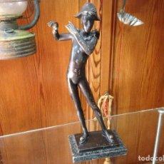 Varios objetos de Arte: ESCULTURA EN BRONCE MACIZO , ARTISTA EULÁLIA MONÉS - BARCELONA. Lote 158675166
