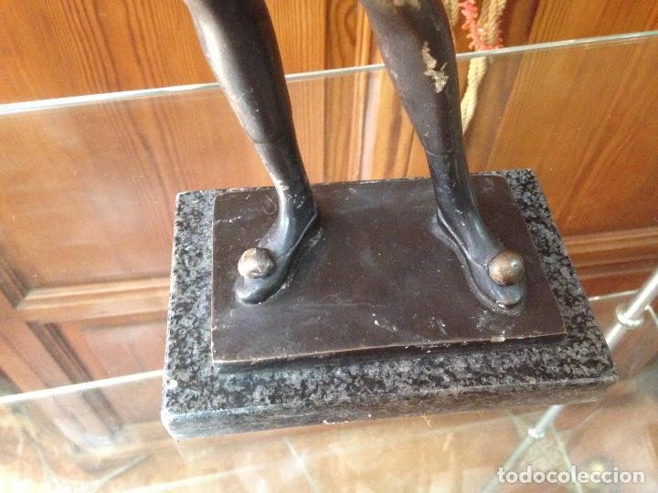 Varios objetos de Arte: Escultura en Bronce macizo , artista Eulália Monés - Barcelona - Foto 2 - 158675166