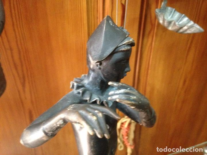 Varios objetos de Arte: Escultura en Bronce macizo , artista Eulália Monés - Barcelona - Foto 8 - 158675166