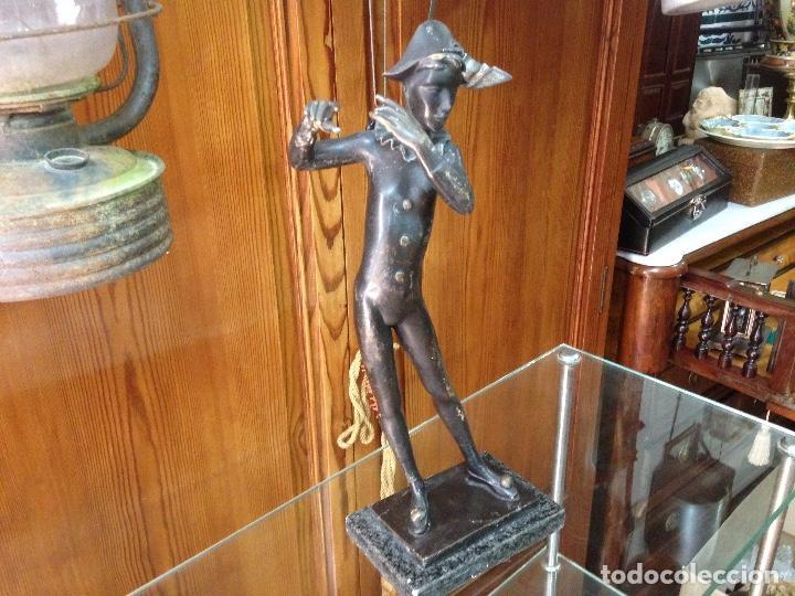 Varios objetos de Arte: Escultura en Bronce macizo , artista Eulália Monés - Barcelona - Foto 9 - 158675166