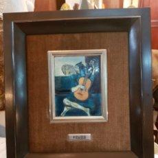 Varios objetos de Arte: ESMALTE AL FUEGO REPRODUCCION PICASSO. Lote 159393269