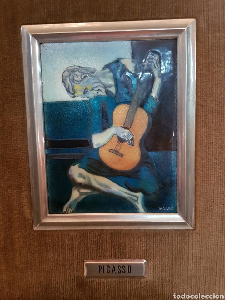 Varios objetos de Arte: ESMALTE AL FUEGO REPRODUCCION PICASSO - Foto 2 - 159393269