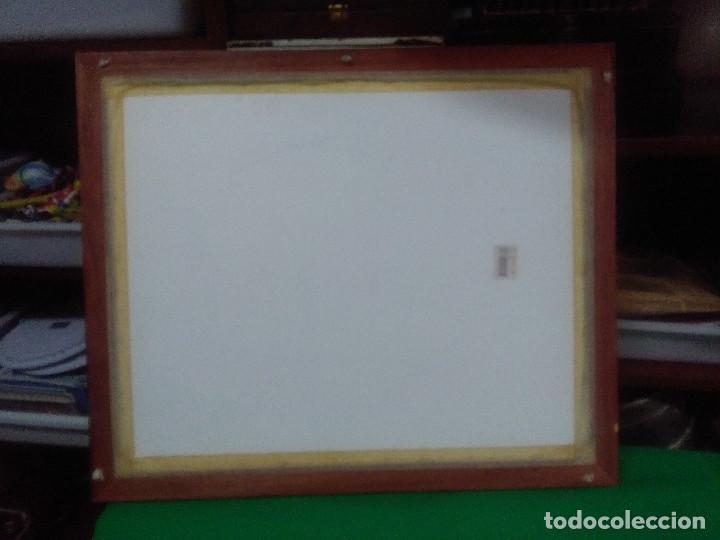Varios objetos de Arte: CUADRO MARCO MADERA , LITOGRAFIA, PUERTA DEL PERDÓN SEVILLA MEDIDAS 62X52 CM. - Foto 5 - 159593134