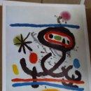 Varios objetos de Arte: CARTEL ORIGINAL JOAN MIRO - 0,70 X 0,52 CMS . Lote 159664318