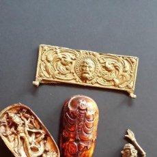 Varios objetos de Arte: LOTE CON VARIAS FIGURAS: GRECIA, BIRMANIA, INDIA Y PERÚ. Lote 159854118