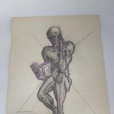 Varios objetos de Arte: DIBUJO Y BOCETO ( AUTOR DESCONOCIDO ). Lote 159981174