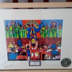 Varios objetos de Arte: CUADRO DEL FAMOSO GRAFITERO DE HARLEM FRANCO THE GREAT, EDICION LIMITADA.. Lote 160213224