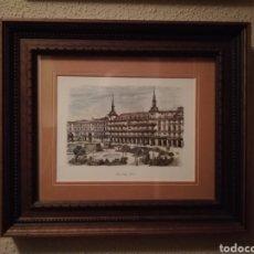 Varios objetos de Arte: CUADRO DE MADRID (PLAZA MAYOR). Lote 160325896