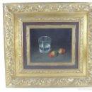 Varios objetos de Arte: EXCELENTE PINTURA SOBRE TABLA FIRMADA M.REYES ENMARCADA CON PRECIOSO MARCO. Lote 160456498