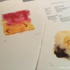 Varios objetos de Arte: CINCO OBRAS ABSTRACCIÓN MARIANO MENDOZA PARDIÑAS. Lote 160629298