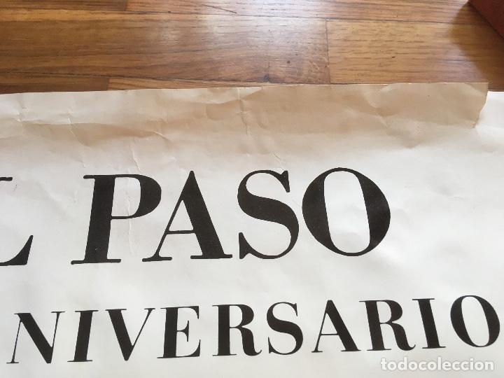 Varios objetos de Arte: EL PASO - CARTEL RENE METRAS - 1974 - CANOGAR MILLARES CHIRINO RIVERA FEITO SAURA VIOLA - Foto 4 - 161007674