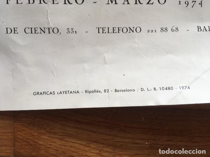 Varios objetos de Arte: EL PASO - CARTEL RENE METRAS - 1974 - CANOGAR MILLARES CHIRINO RIVERA FEITO SAURA VIOLA - Foto 5 - 161007674