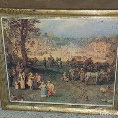 Varios objetos de Arte: VIDA COTIDIANA. Lote 161210074
