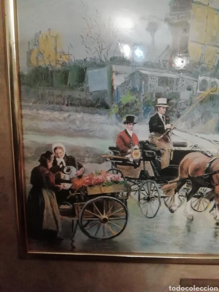 Varios objetos de Arte: Lote dos cuadros Maestro palmero - Foto 2 - 161397950