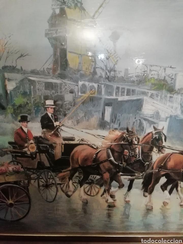 Varios objetos de Arte: Lote dos cuadros Maestro palmero - Foto 3 - 161397950