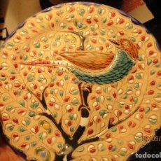 Varios objetos de Arte: ANTIGUO PLATO CERAMICA PARA COLGAR TOLEDO FIRMA P CANCHA. Lote 161436726