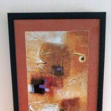 Varios objetos de Arte: CUADRO ABSTRACTO ENMARCADO. Lote 161458682