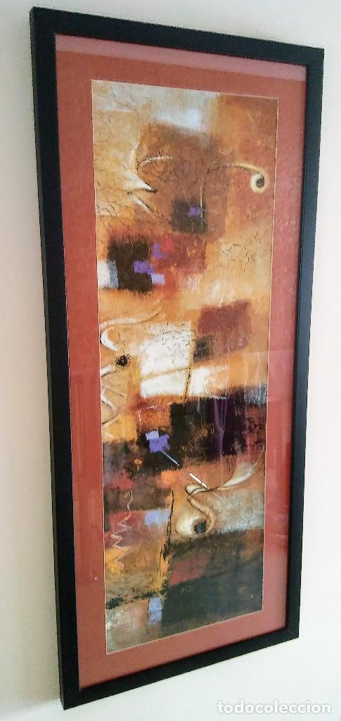 Varios objetos de Arte: CUADRO ABSTRACTO ENMARCADO - Foto 3 - 161458682