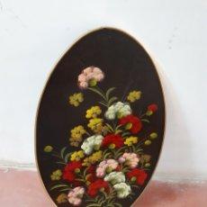 Varios objetos de Arte: OLEO SOBRE MADERA DE 28×47. Lote 161904398