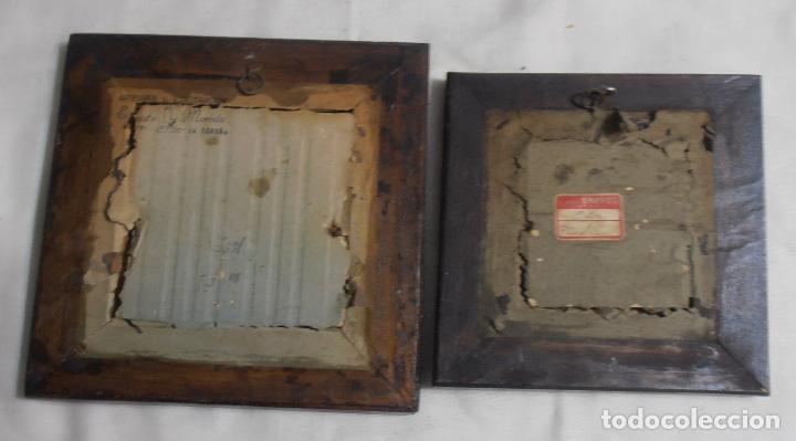 Varios objetos de Arte: CINCO CUADROS MINIATURAS DE ERNESTO MORADO, TITO, LA CORUÑA - Foto 3 - 162134122