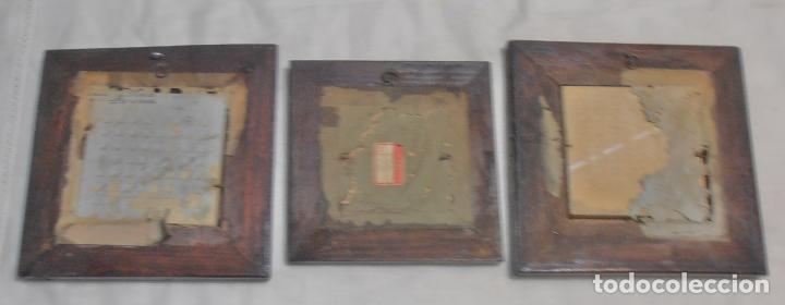 Varios objetos de Arte: CINCO CUADROS MINIATURAS DE ERNESTO MORADO, TITO, LA CORUÑA - Foto 6 - 162134122