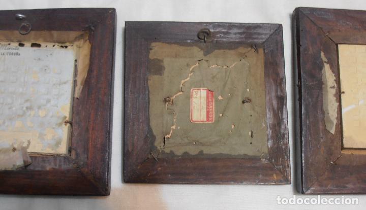 Varios objetos de Arte: CINCO CUADROS MINIATURAS DE ERNESTO MORADO, TITO, LA CORUÑA - Foto 7 - 162134122
