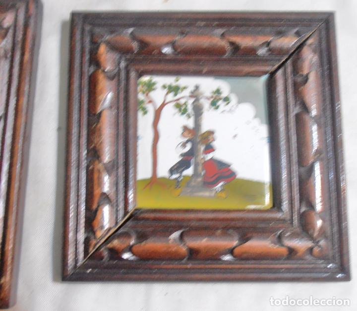 Varios objetos de Arte: CINCO CUADROS MINIATURAS DE ERNESTO MORADO, TITO, LA CORUÑA - Foto 9 - 162134122