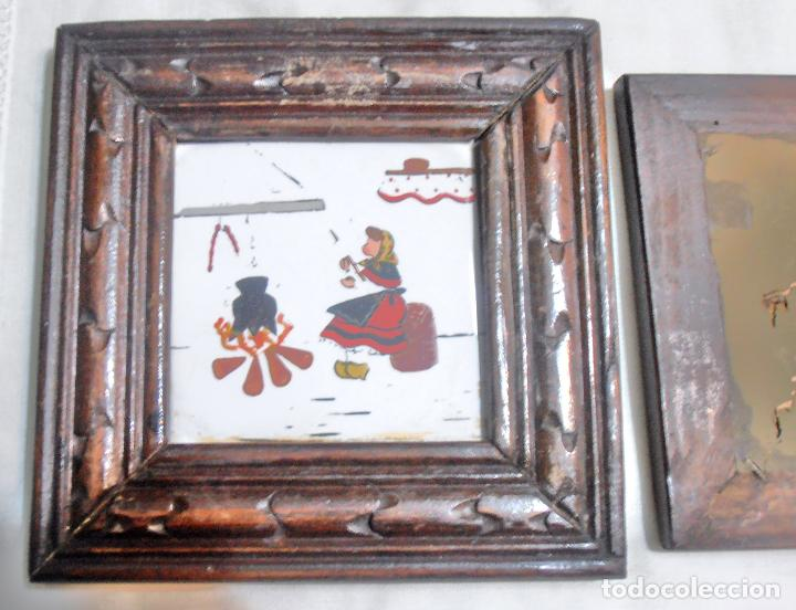 Varios objetos de Arte: CINCO CUADROS MINIATURAS DE ERNESTO MORADO, TITO, LA CORUÑA - Foto 10 - 162134122