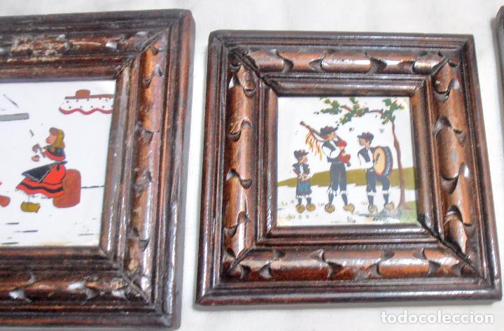 Varios objetos de Arte: CINCO CUADROS MINIATURAS DE ERNESTO MORADO, TITO, LA CORUÑA - Foto 11 - 162134122