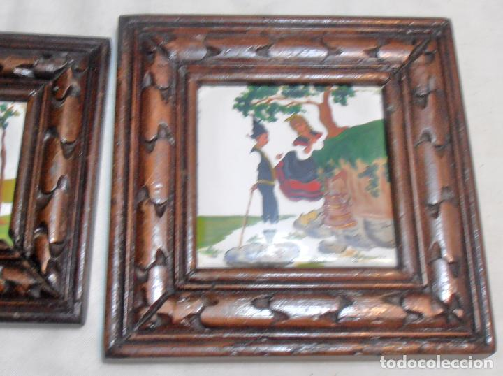 Varios objetos de Arte: CINCO CUADROS MINIATURAS DE ERNESTO MORADO, TITO, LA CORUÑA - Foto 12 - 162134122