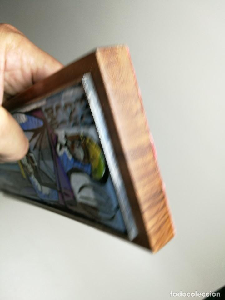 Varios objetos de Arte: AGENCIA PUBLICIDAD CID . ESMALTE AL FUEGO SOBRE METAL. MONTSERRAT MAINAR BENEDICTO AÑOS 60 - Foto 8 - 162387606