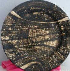 Varios objetos de Arte: PLATO UNICO CON FIRMA - PRECIOSO !!!. Lote 93161115