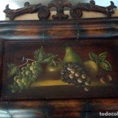 Varios objetos de Arte: CUADRO BODEGÓN EN FORJA RÚSTICO. Lote 162622082