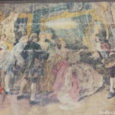 Varios objetos de Arte: TAPIZ ANTIGUO. Lote 163160193